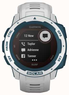 Garmin Instinct solar gps surfeditie cloudbreak rubberen band 010-02293-08