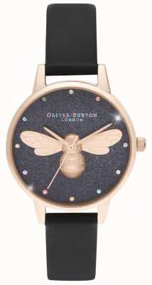 Olivia Burton Rainbow Lucky Bee midi wijzerplaat vegan horloge OB16FB13