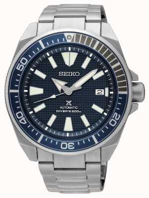 Seiko Prospex | automatische duikers 200m | roestvrij staal blauwe wijzerplaat SRPF01K1