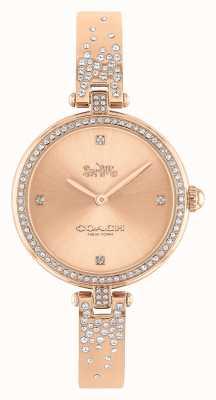 Coach | dames | parkeren | rosé gouden roestvrijstalen armband | 14503651