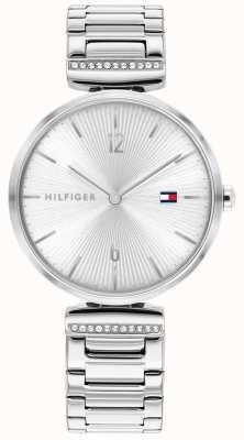 Tommy Hilfiger | vrouwen | aria | roestvrijstalen zilveren armband | zilveren wijzerplaat | 1782273