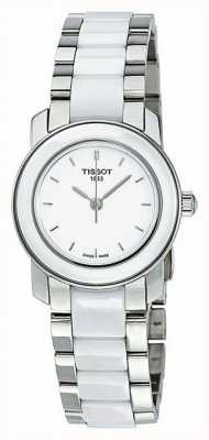 Tissot Cera dameshorloge met diamanten van 28 mm T0642102201600