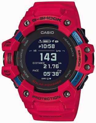 Casio G-schok | g-ploeg | hartslagmeter | bluetooth | rood | GBD-H1000-4ER