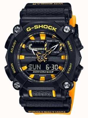 Casio G-schok | ltd editie | op zwaar werk berekend | wereldtijd | geel GA-900A-1A9ER
