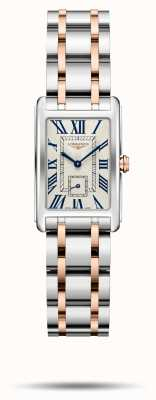 Longines Dolcevita elegantie tweekleurige armband voor dames L52555717
