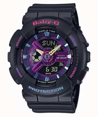 Casio Baby-G Decora horloge met paars detail BA-110TM-1AER