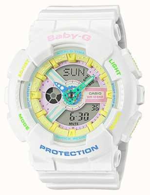 Casio Baby-G Decora horloge met regenboogdetail BA-110TM-7AER