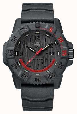 Luminox Master carbon seal 3800 limited edition zwart en rood XS.3801.EY