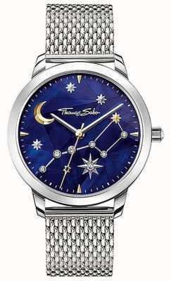 Thomas Sabo | vrouwen | geest cosmo sterrenhemel | stalen mesh armband | SET_WA0372-217-209-33