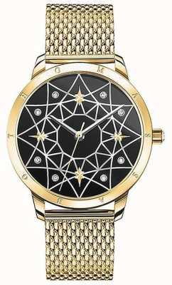 Thomas Sabo | vrouwen | geest cosmo sterrenhemel | gouden mesh armband | SET_WA0373-275-203-33