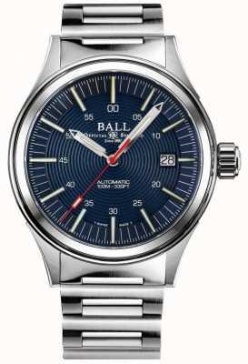 Ball Watch Company Brandweerman nightbreaker | roestvrijstalen armband | blauwe wijzerplaat | 40 mm NM2188C-S13-BE