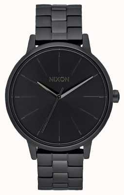 Nixon Kensington | helemaal zwart | zwarte ip-armband | zwarte wijzerplaat A099-001-00