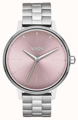 Nixon Kensington | zilver / bleke lavendel | roestvrijstalen wijzerplaat A099-2878-00
