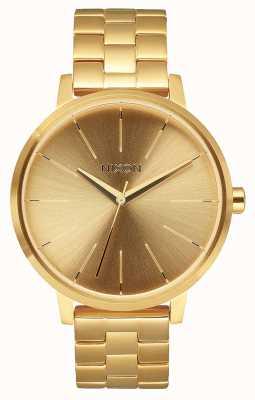 Nixon Kensington | alle goud | gouden ip stalen armband | gouden wijzerplaat A099-502-00