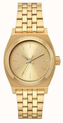 Nixon Teller op middellange termijn | alle goud | gouden ip stalen armband | gouden wijzerplaat A1130-502-00