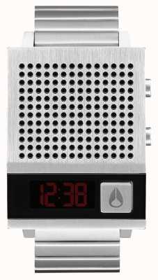 Nixon Dork ook | zwart | digitaal | roestvrijstalen armband | praten A1266-000-00