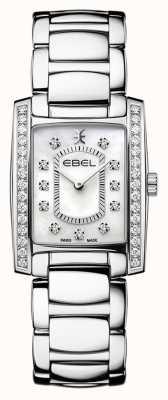 EBEL Brasilia voor dames | roestvrijstalen armband | parelmoer of parelmoer wijzerplaat 1216463