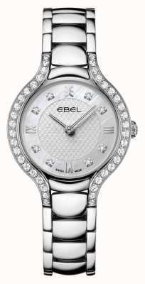 EBEL Beluga voor dames | roestvrijstalen armband | parelmoer wijzerplaat | diamanten set 1216465