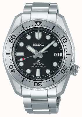 Seiko Prospex 1968 herinterpretatie | titanium armband | zwarte wijzerplaat | saffierglas SPB185J1