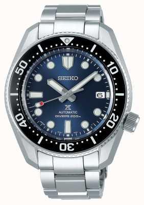 Seiko Prospex 1968 herinterpretatie | titanium armband | blauwe wijzerplaat SPB187J1