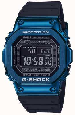 Casio G-shock blauw stoer solar blauw ip verguld GMW-B5000G-2ER