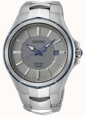 Seiko Coutura | roestvrijstalen armband | grijs / zilveren wijzerplaat SNE565P9