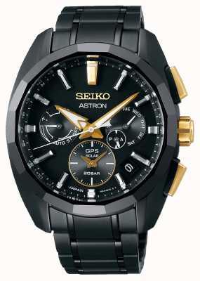 Seiko Astron | beperkte editie | gps zonne-energie | titanium armband SSH073J1