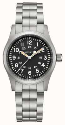 Hamilton Khaki veld mechanisch | roestvrijstalen armband | 38 mm H69439131