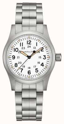 Hamilton Khaki veld mechanisch | roestvrijstalen armband | 38 mm H69439111