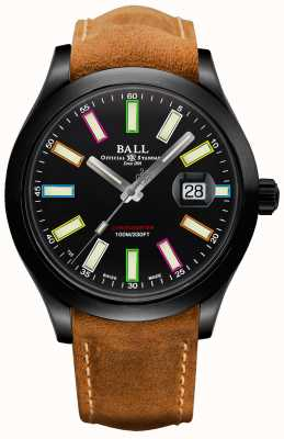 Ball Watch Company Limited Edition Engineer II Rainbow Cosc automatische chronometer 43 mm titanium NM2028C-L28CJ-BK