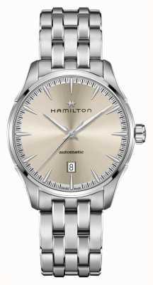 Hamilton Jazzmaster | auto | roestvrijstalen armband | champagne wijzerplaat H32475120