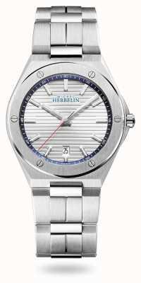 Michel Herbelin Pet camarat | zilveren wijzerplaat | roestvrij stalen armband 12245/B42