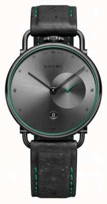 Baume & Mercier Baume | milieuvriendelijk kwarts | grijze wijzerplaat | zwarte kurken band M0A10599