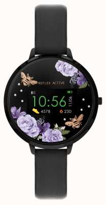 Reflex Active Serie 3 slim horloge | zwarte band RA03-2018