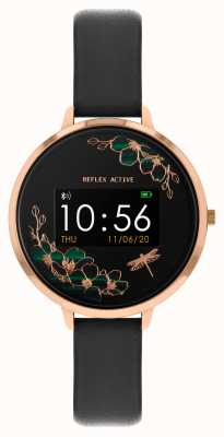 Reflex Active Serie 3 slim horloge | zwarte band RA03-2040