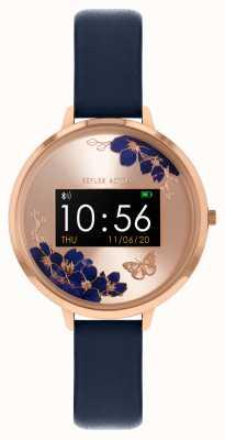Reflex Active Serie 3 slim horloge | blauwe band RA03-2042