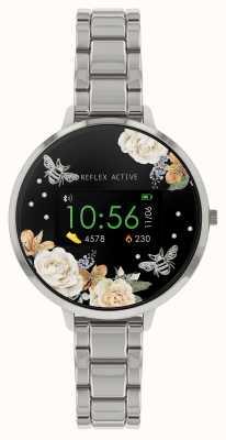 Reflex Active Serie 3 slim horloge | roestvrij stalen armband RA03-4007