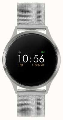 Reflex Active Serie 4 smartwatch | kleuren touchscreen | roestvrijstalen mesh armband RA04-3001