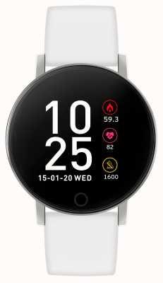 Reflex Active Serie 5 slim horloge | hr monitor | kleuren touchscreen | witte band RA05-2019