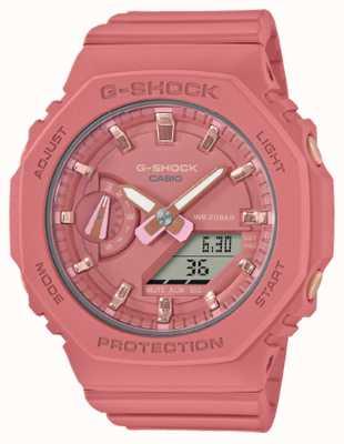 Casio Middelgrote g-shock | roze kunststof band | roze wijzerplaat GMA-S2100-4A2ER