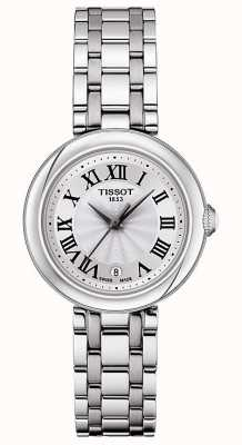Tissot Bellissima   zilveren wijzerplaat   roestvrij stalen armband T1260101101300