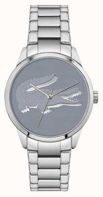 Lacoste Ladycroc | roestvrijstalen armband | blauwe wijzerplaat 2001174