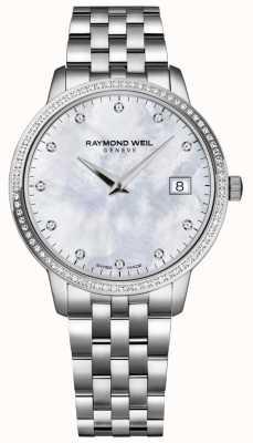 Raymond Weil Toccata | dames parelmoer diamanten wijzerplaat | 5388-STS-97081