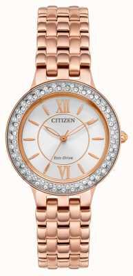 Citizen Eco-drive roségouden damesarmband FE2088-54A