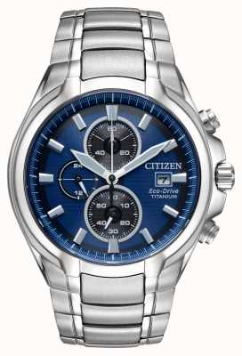 Citizen Eco-drive titanium herenarmband CA0700-51L