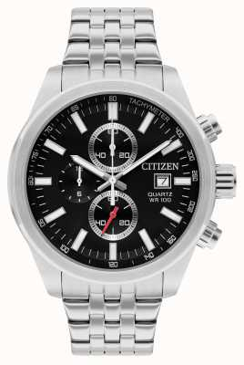 Citizen Chronograaf quartz roestvrij staal AN3620-51F