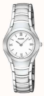 Pulsar Dames roestvrijstalen analoge armband horloge PEGE49X1