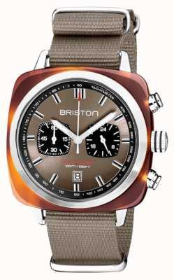 Briston | clubmeester sport | acetaat | taupe | 20142.SA.TS.30.NT