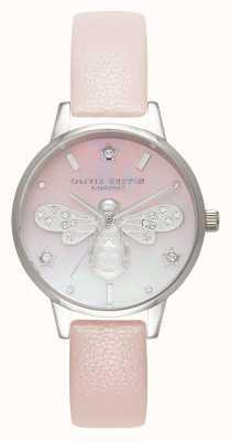 Olivia Burton Sparkle bee midi parel roze en zilver OB16GB09