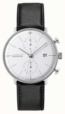 Junghans Max bill chronoscoop saffierglas 27/4600.02
